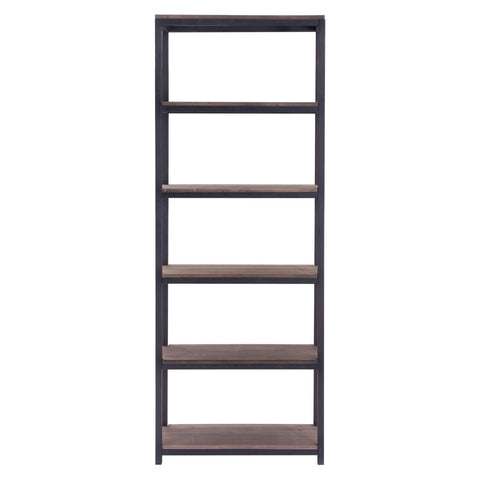 Zuo Modern Mission Bay Tall Six Level Shelf 98143 West Dwelling Furniture