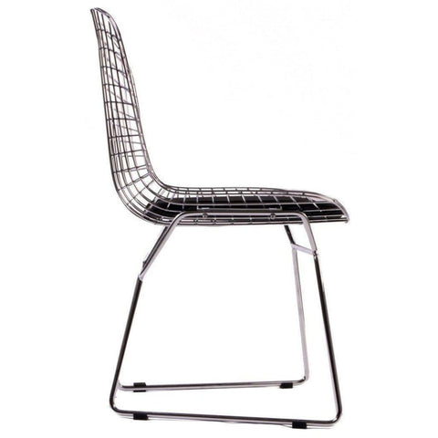 Image of Bertoia Wire Chair - Reproduction - Dining Chairs