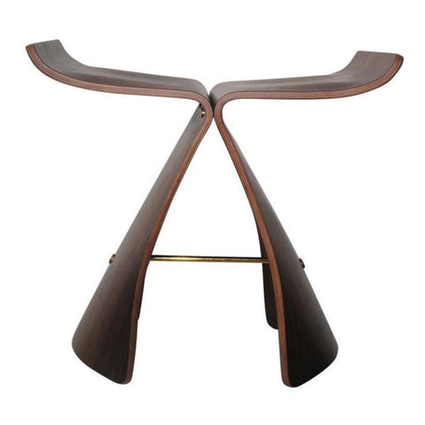 Butterfly Stool - Walnut - Reproduction - Stools