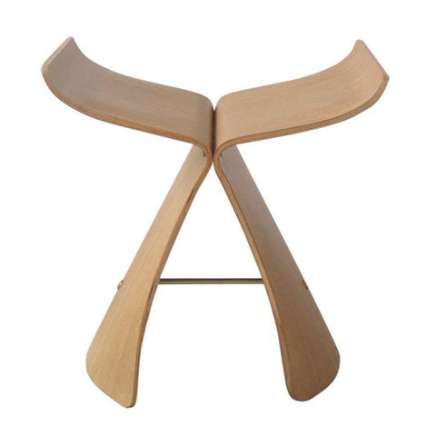 Butterfly Stool - White Oak - Reproduction - Stools
