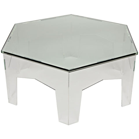 Kame Acrylic Coffee Table - Coffee Tables