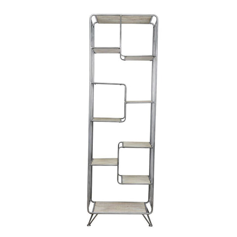 Quimby Staggered Tall Bookshelf - Shelves