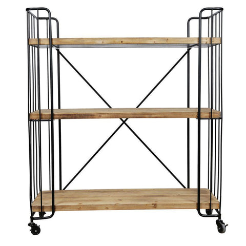 Quimby Three-Tier Bookshelf - Shelves