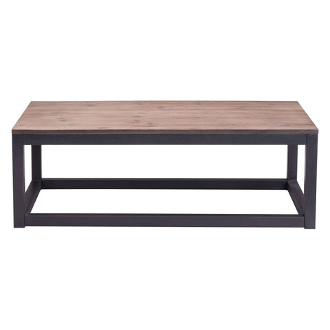 Zuo Modern Civic Center Long Coffee Table 98123 West Dwelling Furniture