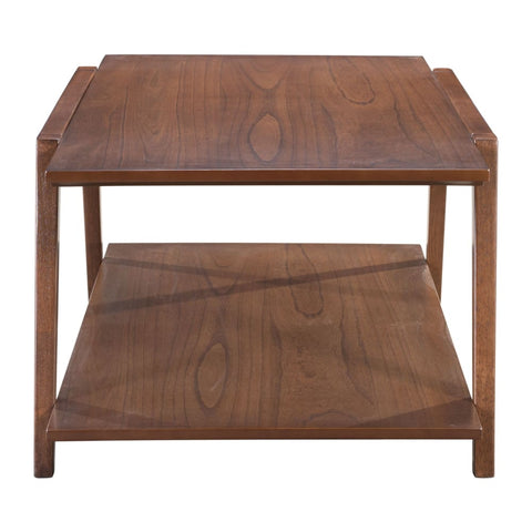 Zuo Modern Graham Coffee Table Walnut 101060 West Dwelling Furniture
