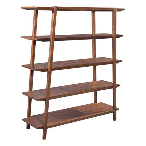 Image of Zuo Modern Graham Shelf Walnut 101053 West Dwelling Furniture