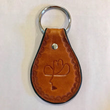 leather-calico-cowboy-keychain