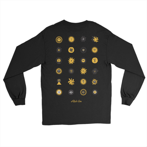 Worship The Sun Long Sleeve - Black