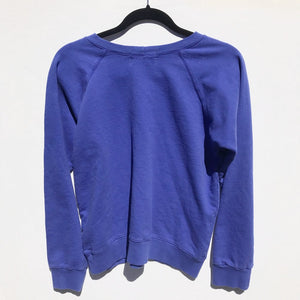 Women's Calico Review Sweater - Blue