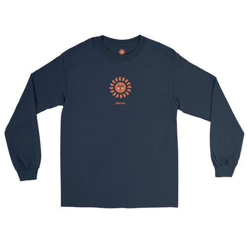 Worship The Sun Long Sleeve - Navy
