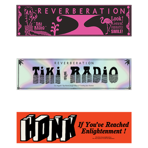 Reverberation Radio Bumper Stickers