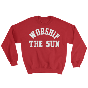 Worship the Sun Sweater - Red