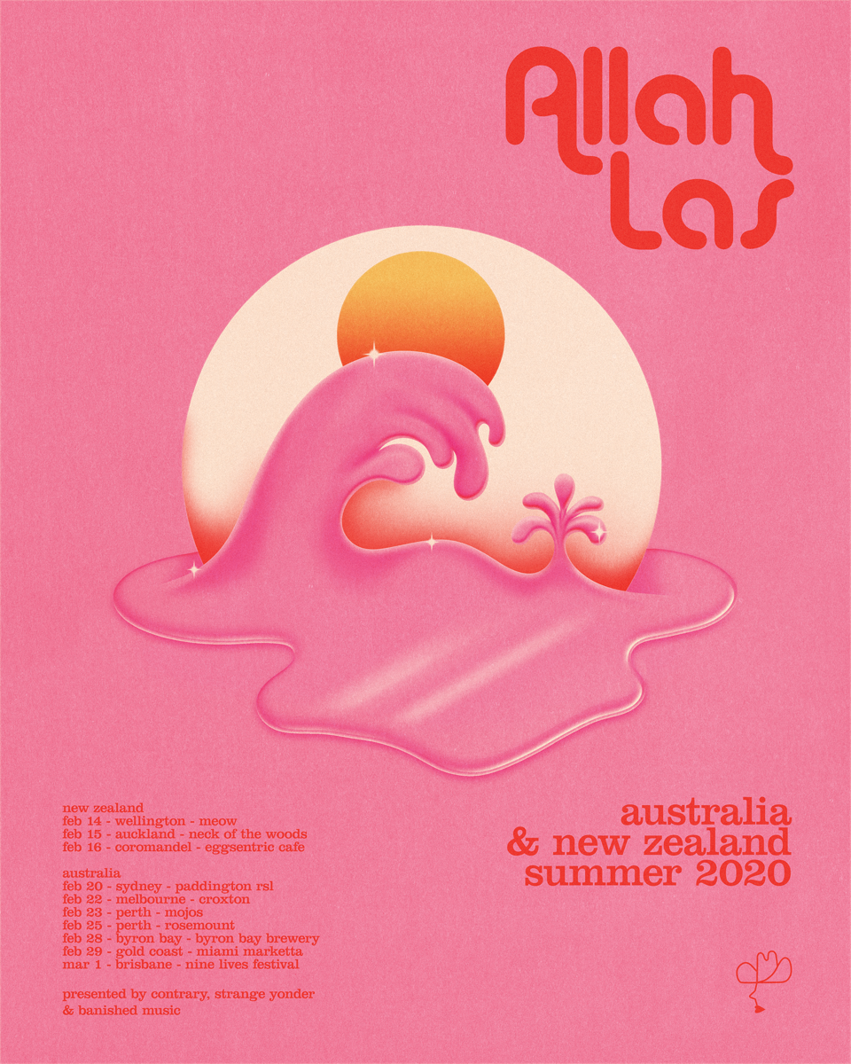Summer Tour Poster OZ/NZ - Fundraiser