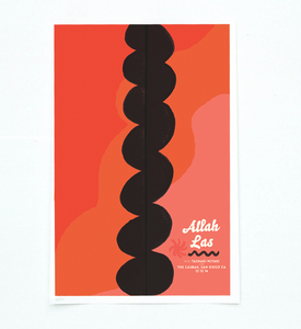 The Casbah - Custom Screen Print Poster
