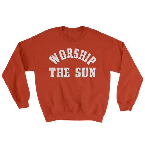 Women's Worship The Sun Sweater - Orange