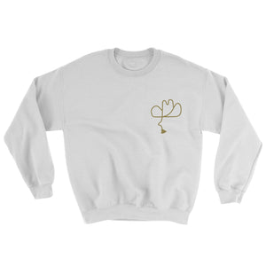 Calico Cowpoke Sweater White/Gold