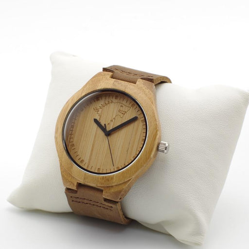Montre Bamboo Loup - Wolf Dream