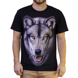 T-shirt loup homme femme ambition - Wolf Dream