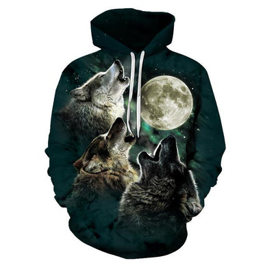 Sweat hurlement loup