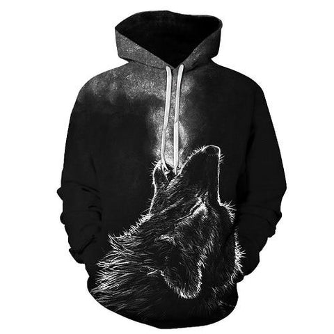 sweat loup qui hurle