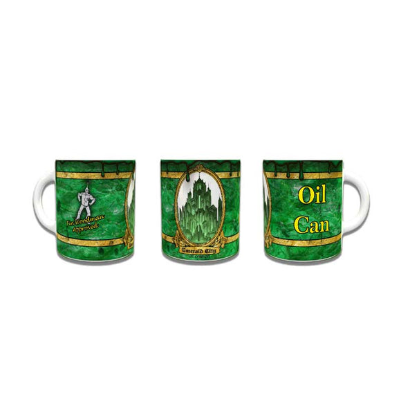 Emerald City Oil Can Coffee Mug