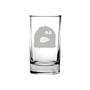 Kids Monster Etched Juice Glass