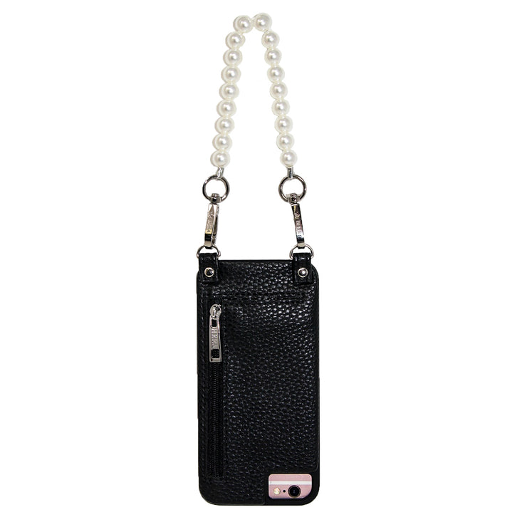Pam | Wristlet | White Pearl | Classic Strap | Hera cases