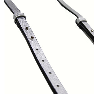 Replacement Vegan Leather Adjustable Strap G2 - Star (Metallic Silver)