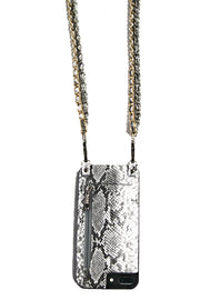 Cali | Perfectly paired with STORM | Double Metal chain strap silver & gold | Hera cases