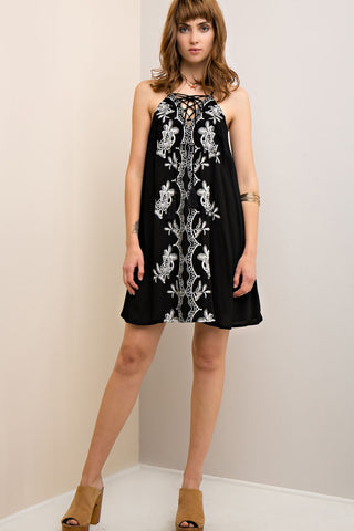 Marisol Embroidered Dress