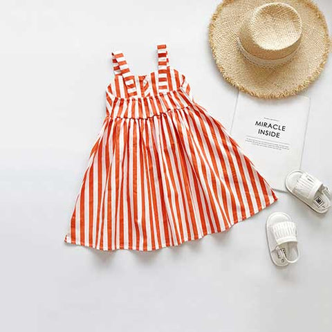 Classic Stripes One Piece Dress