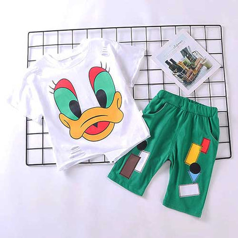 Donald Top & Pants Set