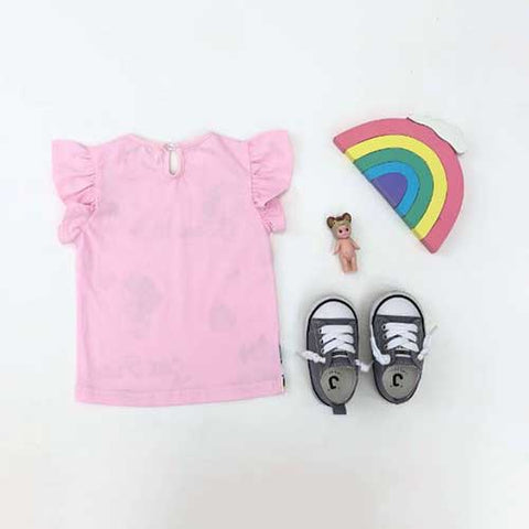 Snow White Pink Top