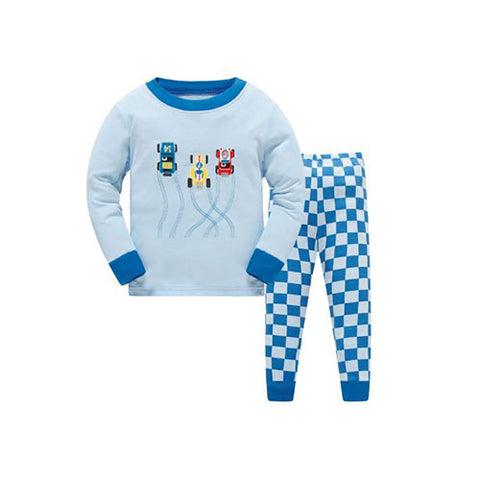 Race Car Pajamas Set