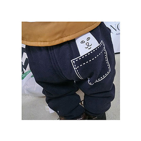 Cat Jogger Pant - Dark Blue