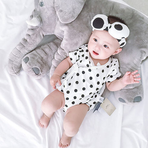 Dots on Dots Romper