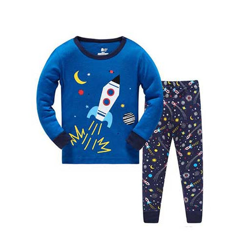 Rocket Pajamas Set