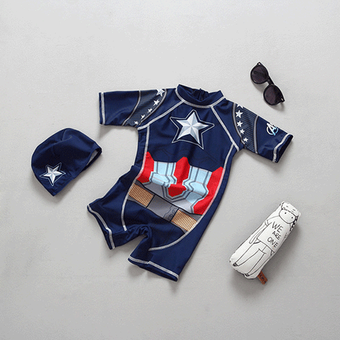 Captain America Swimwear