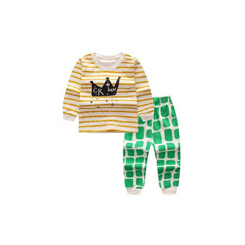 Crown Pajamas (2-Piece Set)
