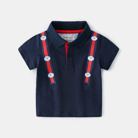 Dark Blue Polo Shirt