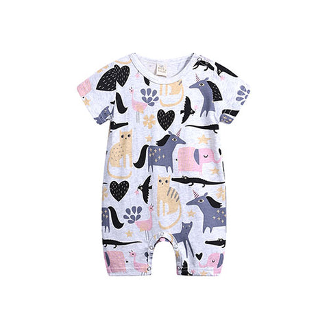 Dark Unicorn Romper