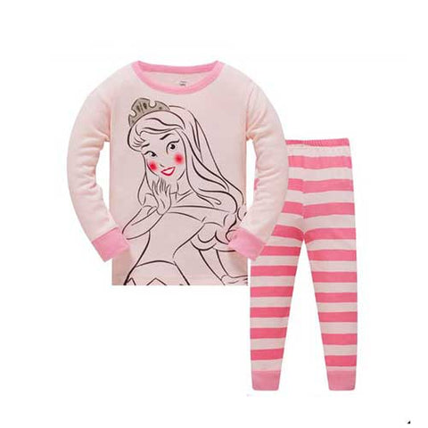 Princess Pajamas Set