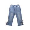 Image of Ribbon Cropped Jeans