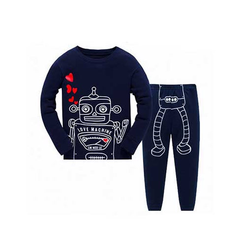 Robot Pajamas Set