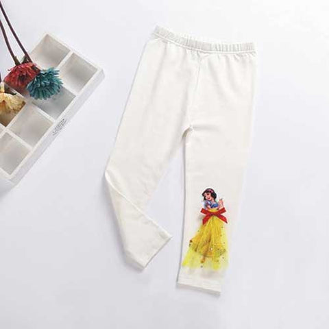 Snow White Cropped Leggings