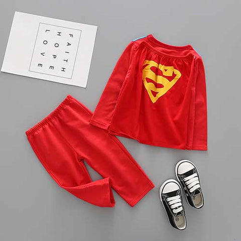 Superman Pajamas Set