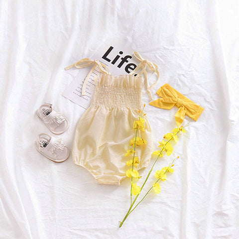 Light Yellow Romper