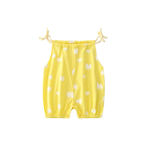 Yellow Love Romper