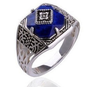 Anel Silver Caroline Vampire Diaries  - Vintage Ring Jewelry