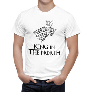 Camiseta Game of Thrones - Wolf  Stark Winterfell Cotton - B126